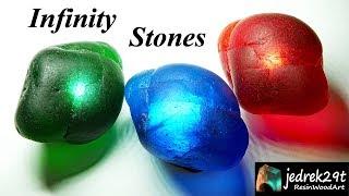 DIY. Infinity Stones with Epoxy Resin / ART RESIN