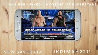 FIXED MOVE SET WWE 2K18 BY GAMERNAFZ