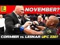 Is Brock Lesnar Fighting Daniel Cormier in November at UFC 230?
