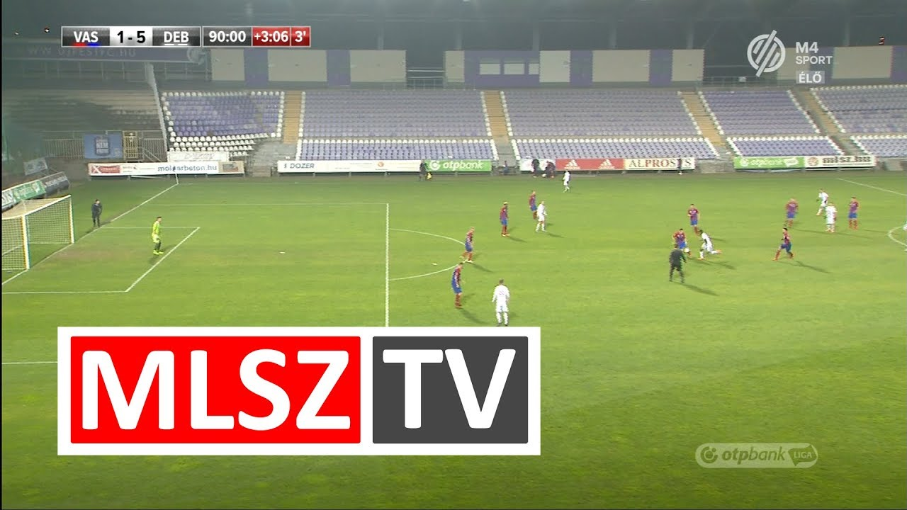 Mengolo Justin Junior duplázása a Vasas FC - DVSC mérkőzésen