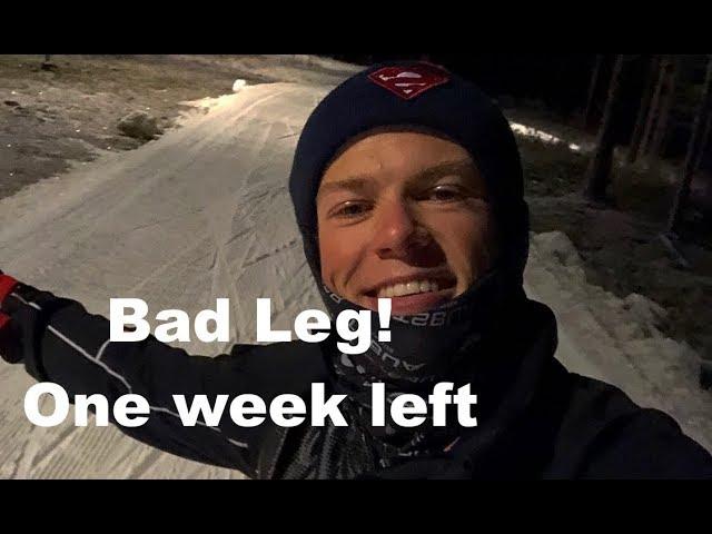 Bad leg! One week left   Vlog 45²