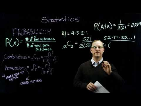 Sport Psychology   Statistics - Combinations and Permutations - Part 1 of 2
