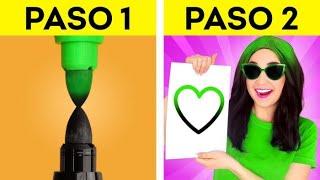 TRUCOS DE RICOS VS. NORMALES | ¡Juegos en la escuela! Trucos para cada ocasión de 123 GO! SCHOOL