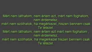 Majka - Csak Te Létezel lyrics