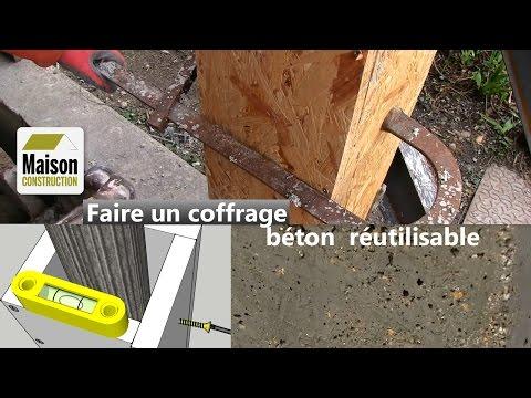 Coffrage Béton Réutilisable Youtube