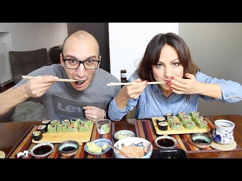 Ora ci sfondiamo di sushi !!! - VLOG Venerdì 18 Dicembre 2015