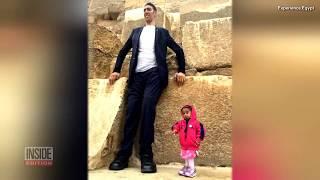 worlds tallest man meets worlds shortest woman