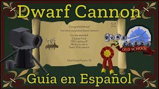 [OSRS] Dwarf Cannon (Español)