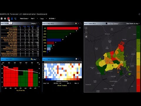 GIS for Real-Time Operations in Law Enforcement