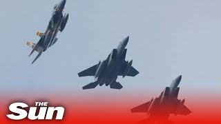 US airstrikes target sites in Iraq and Syria linked to Iranian-backed militia