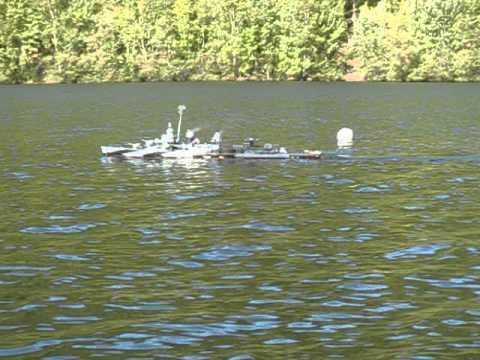 USS Halford on patrol