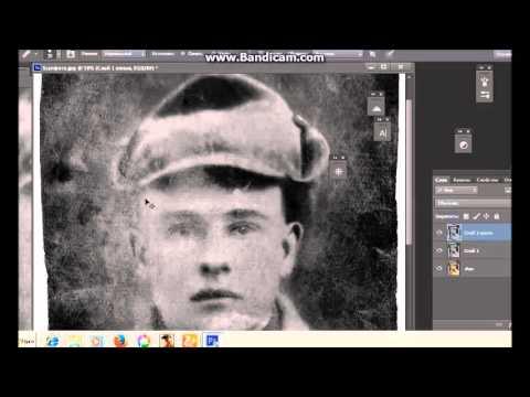 восстановление старой фотографии времен второй мировой войны restore old photos of world war II