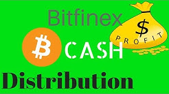 Bitfinex Will Distribute Bitcoin Cash
