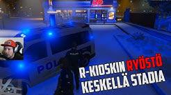GTA V RP - R-Kioskin ryöstö helsingissä #33 (poliisi)