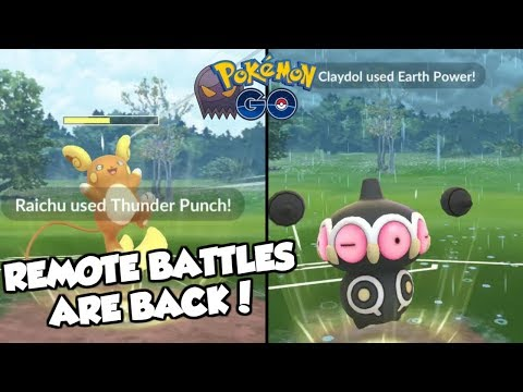 REMOTE BATTLES ARE BACK! Pokemon GO PvP Sinister Cup Great League Matches