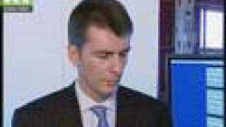 Exclusive intv. with Russian billionaire Mikhail Prokhorov