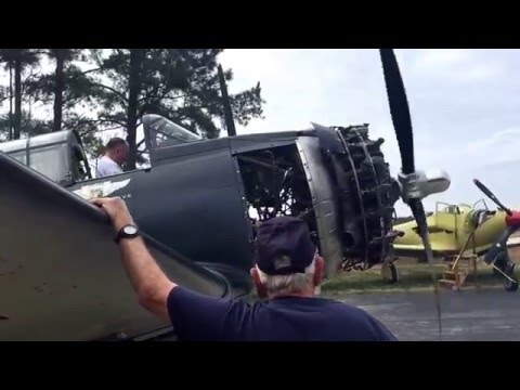Douglas SBD Dauntless Post Annual Start