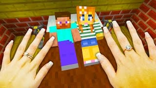 REALISTIC MINECRAFT - STEVE CHEATS ON ALEX!