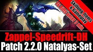 Diablo 3 Ros Natalyas Speedrift DH | Patch 2.2.0 | German/Deutsch