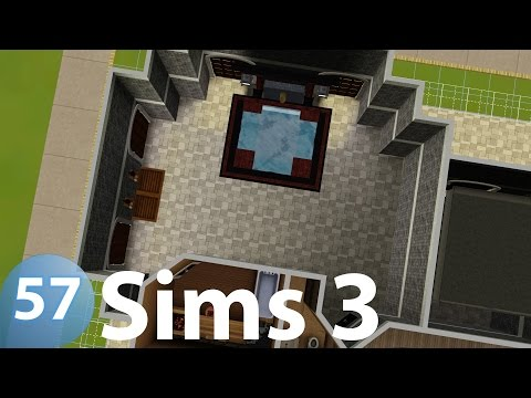The Sims 3 - Spa - Top of The Hill Castle 57 - Let's Build (Real Time)