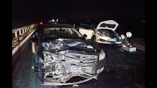 Toyotába hajtott egy Opel az M86-os autóúton - balesetes Seat miatt állt meg a Toyota vezetője