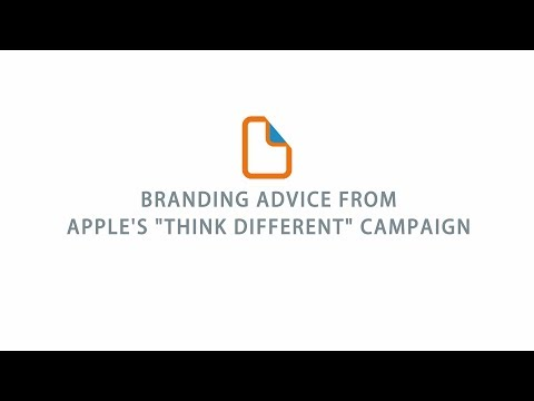"Branding Advice From Apple's ""Think Different"" Campaign"