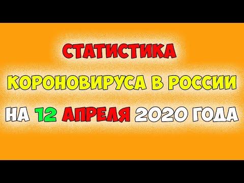УМЕРЛО 130 человек Статистика Короновируса на 12 апреля 2020 год  в РОССИИ и Мире