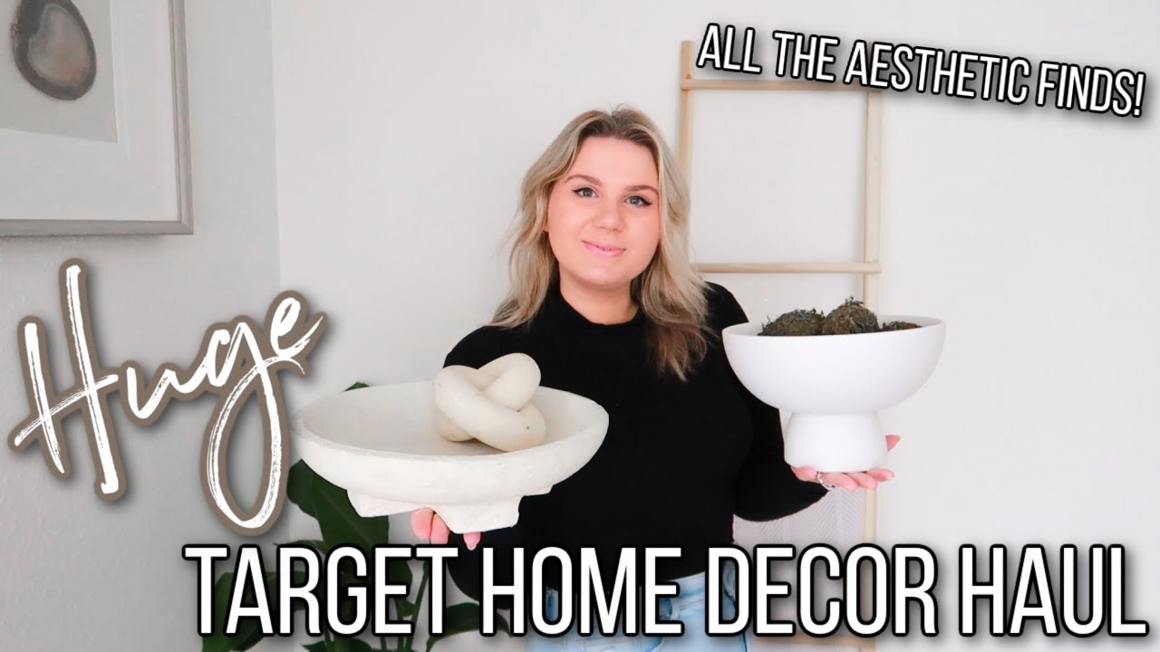 HUGE Aesthetic Target Home Decor Haul