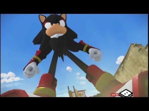 Sonic Boom - Shadow Vs Team Sonic