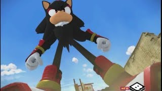 Sonic Boom - Shadow vs Team Sonic