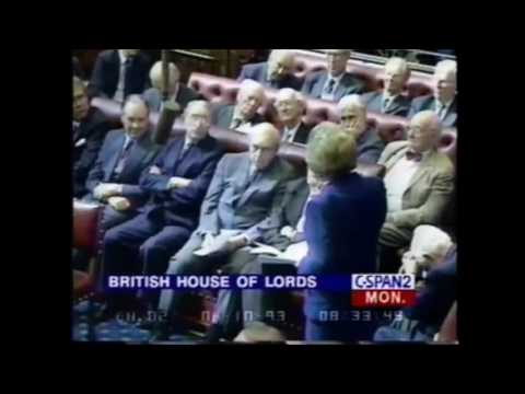 Lady Thatcher:  Maastricht treaty