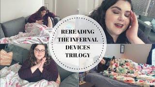 READING VLOG: REREADING THE INFERNAL DEVICES 📖 | Novel Ink