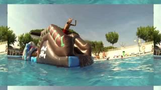Platja piscina  - camping roca grossa - calella -