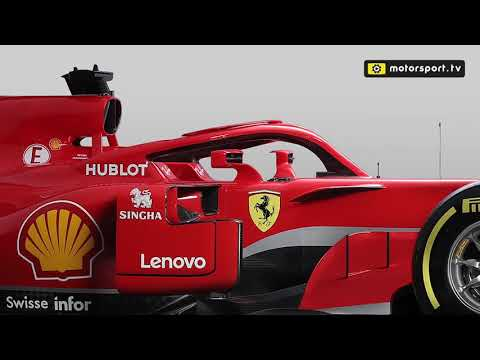 The technical changes on Ferrari