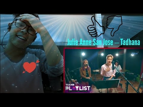 Julie Anne San Jose – Tadhana REACTION! (ABSOLUTELY BEAUTIFUL!)