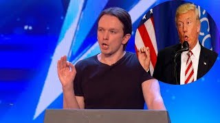 Impersonator DONALD TRUMP Make Judges Can't Stop Laugh | Britain's Got Talent