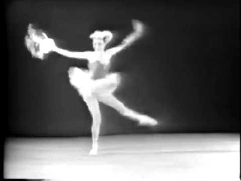 """Tarantella"": Patricia McBride/ Edward Vilella (George Balanchine, NYC Ballet)"