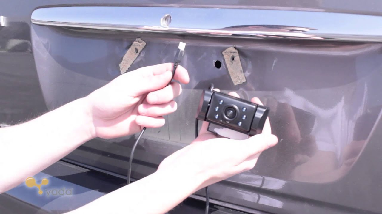 maxresdefault yada digital back up camera installation toyota camry youtube  at panicattacktreatment.co