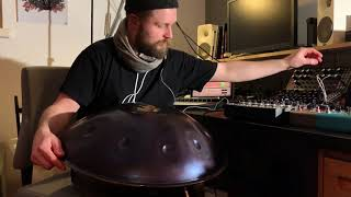 Meridian Electro-Acoustic Handpan (with Ableton Live + Moog DFAM + Soma Lyra-8)
