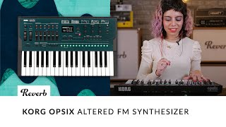 Korg Opsix Altered FM Synthesizer Demo