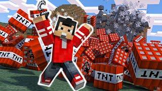 TNT RUN - EPICO FINAL!! - Minecraft - Nexxuz World