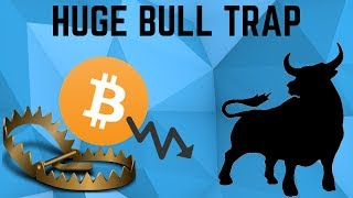 A HUGE Bull Trap Waiting To Happen! Can Bitcoin  BTC Technical Analysis