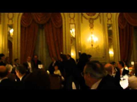 Distinción a Plácido Domingo Hotel Alvear 24/03/2011