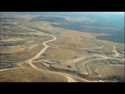 Mountaintop Removal Flyover In Perry County, KY