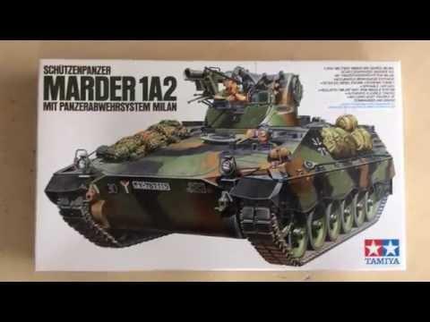 Tamiya Schutzenpanzer Marder 1a2 MIT Panzerabwehrsystem Milan