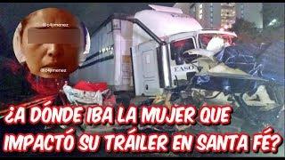 Video del momento en que tráiler se queda sin frenos en la México-Toluca