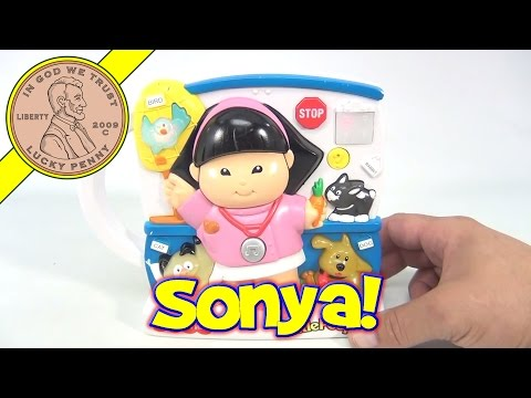 Fisher-Price Little People Sonya Lee Veterinarian Musical Toy, 2000