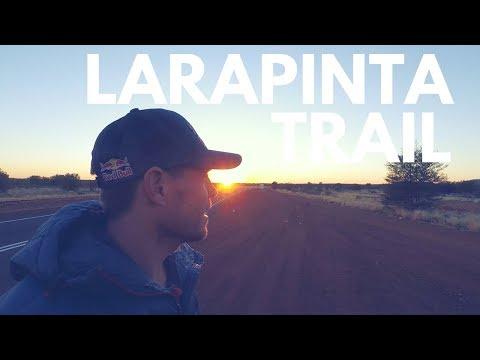 RUNNING THE LARAPINTA TRAIL RACE