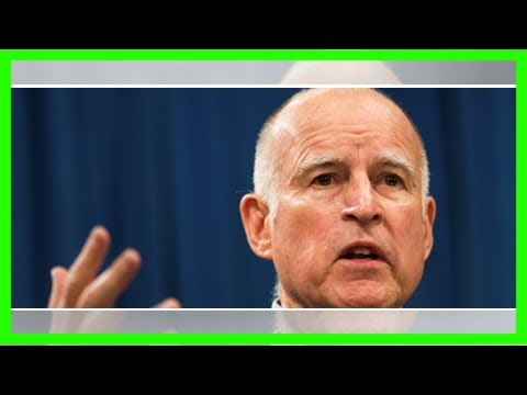 How gop's tax deal could end gov brown's anti-fossil fuel fantasies