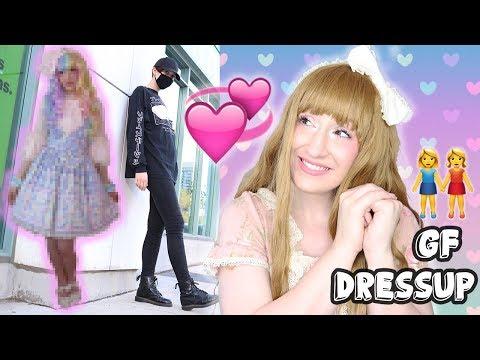Dressing up my girlfriend